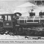"An early ""N"". at the Otira Loco Depot in 1920's"