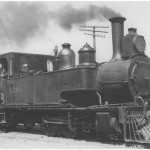 R272 photographed at Christchurch in 1923, note the 0-6-4 wheel arraingement