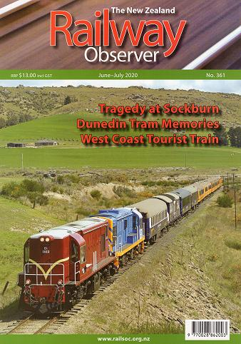Railway Observer Magazine Cover