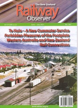 Railway Observer Magazine Cover